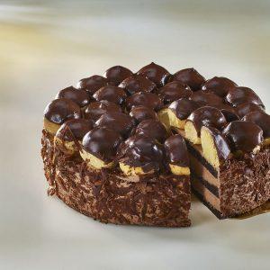 CHOCOLATE PROFITEROLE CAKE